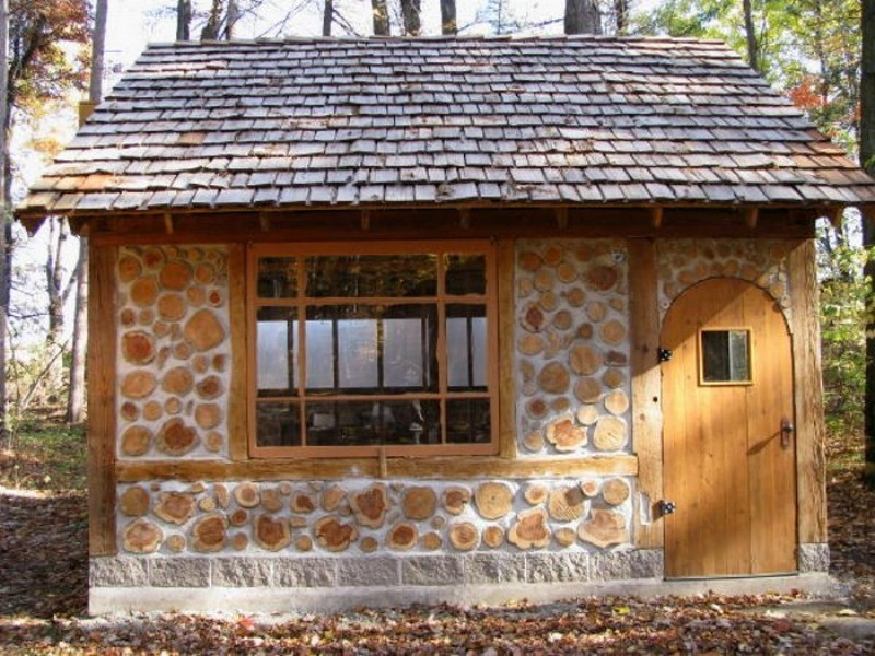 House on pinterest earthship home cob home and natural for Cordwood building plans
