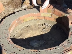DIY Backyard Fire Pit