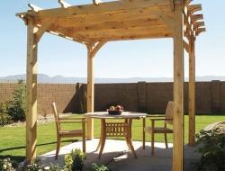 DIY Backyard Pergola - Backyard Pergola