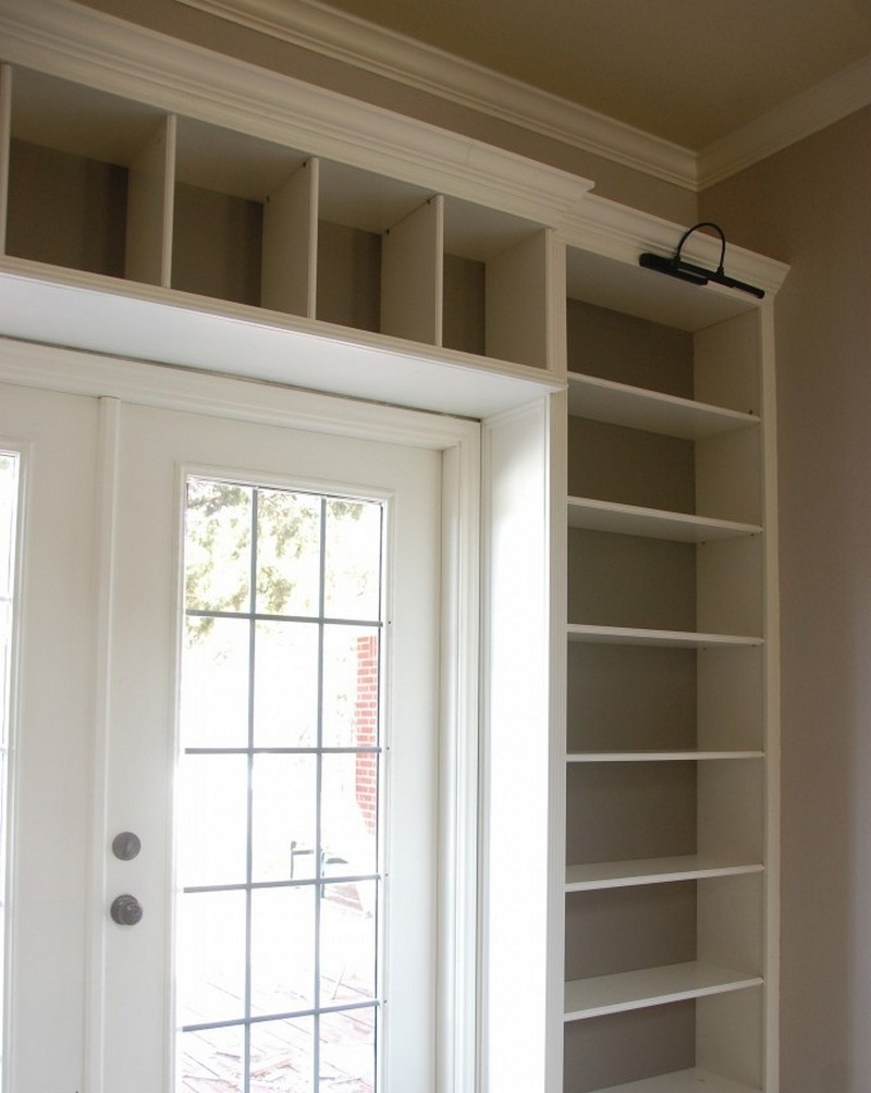 DIY Built in Bookcase Plans 800 x 1004