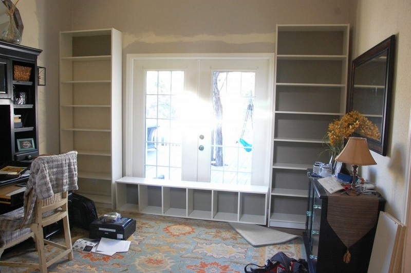 Billy Bookcase Built Ins 800 x 531