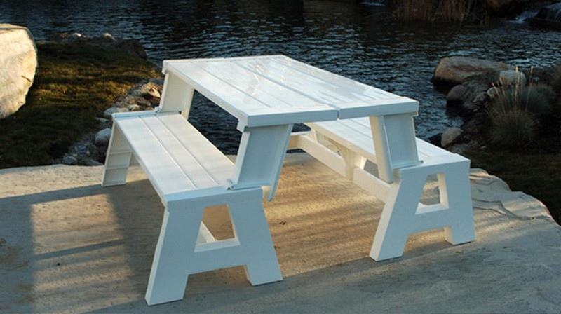 diy picnic table and benches | New Woodworking Models