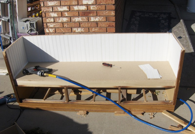 Dresser Upcycled Into A Bench The Owner Builder Network