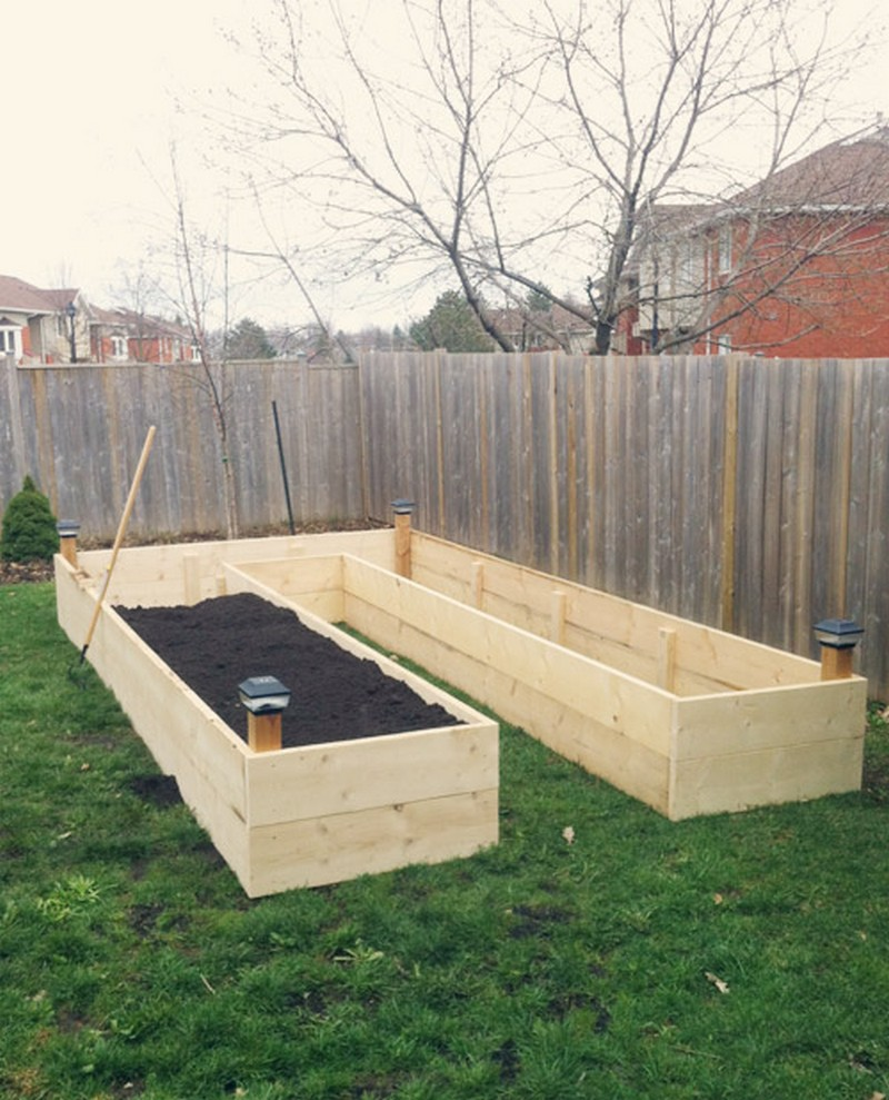 Diy Easy Access Raised Garden Bed The Owner Builder Network