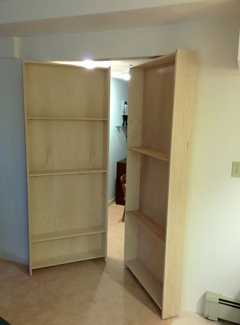 Ideas For Hidden Bookcase Doors For Use In Home Libraries (and ...