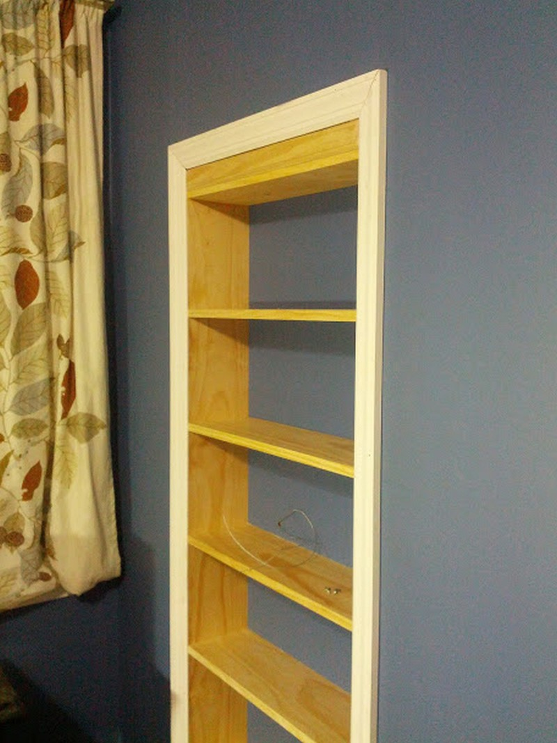 bookcase door car interior design
