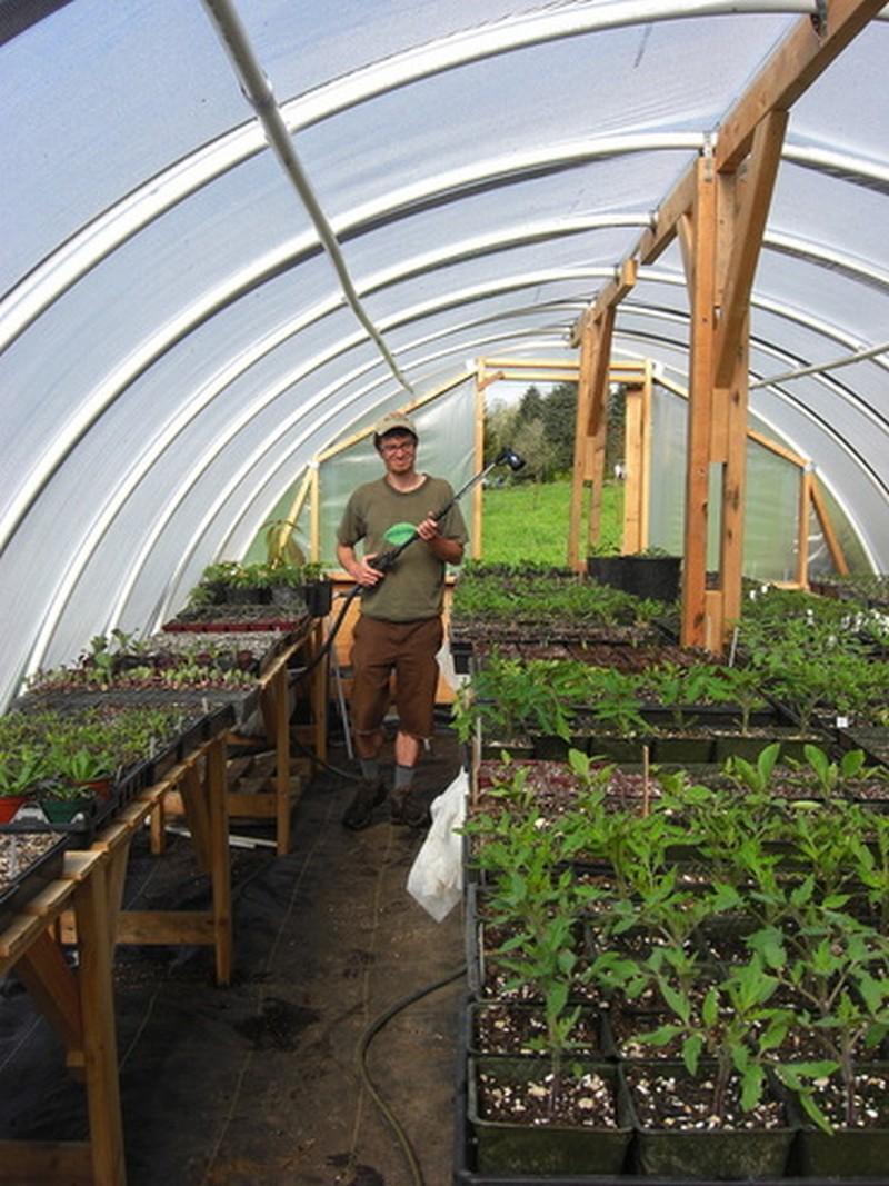 Diy Hoop Greenhouse The Owner Builder Network
