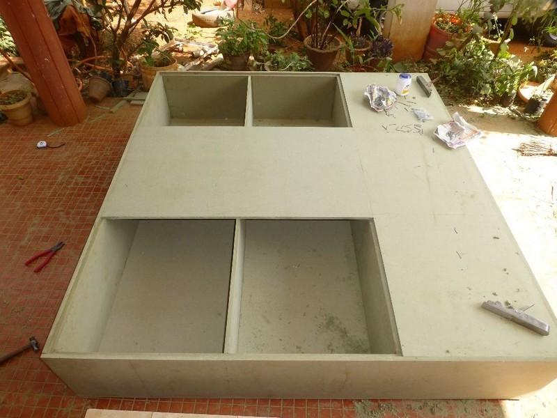 Diy Kids Bed With Storage Diy Platform Bed With Storage