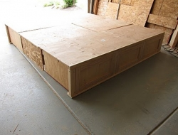 DIY King Size Bed - Assembly