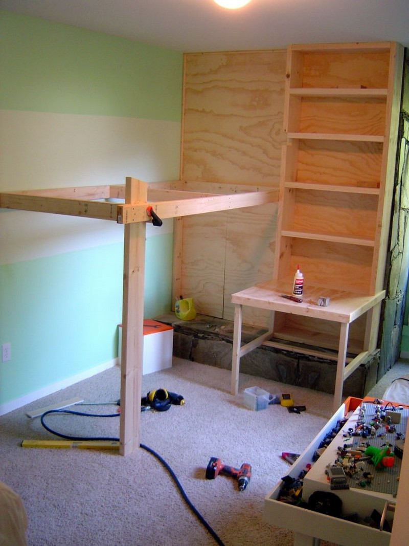 free loft bed plans with stairs | Easy Woodworking Programs