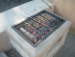 DIY Open Grill - Complete grill