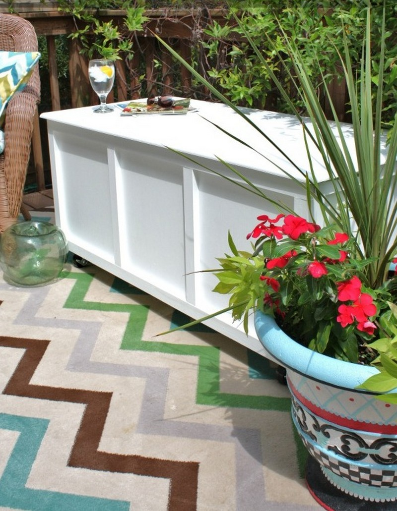 Diy Outdoor Storage Bench Seat, Apr…