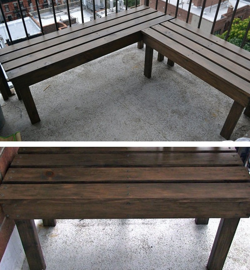 Simple Bench Chairs Images Wooden | Woodworking DIY Projects