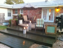 DIY Pallet Deck - Ready for summer