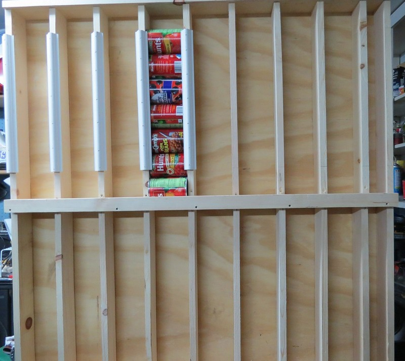 DIY Rotating Canned Food System | The Owner-Builder Network