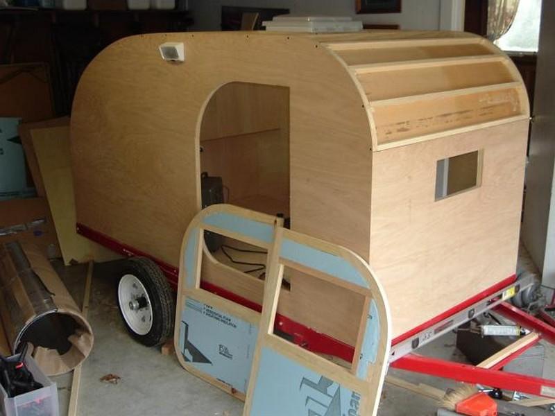 ... Trailer also Teardrop C er Trailer Plans. on 4x8 homemade camper plans