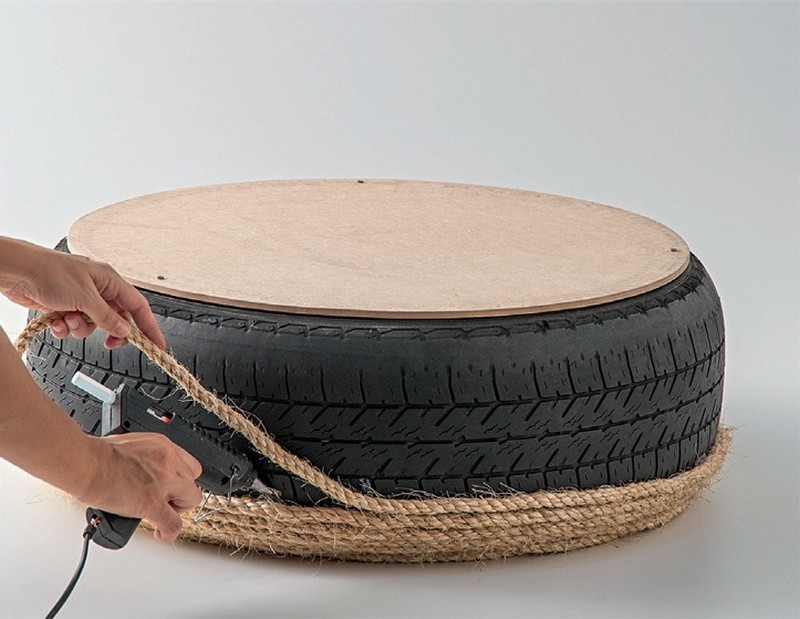 Diy Tire Ottoman The Owner Builder Network