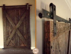We know you have very interesting opinions. What are your thoughts on this repurposed barn door?