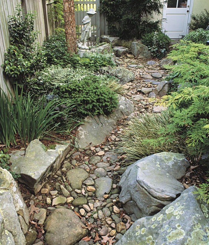 Country landscape design landscaping network - Dry Creek Garden