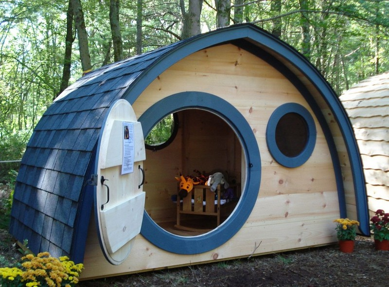 Hobbit hole playhouses for How to build a hobbit hole playhouse