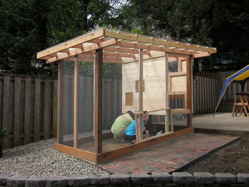 Homemade Chicken Coop The Owner Builder Network