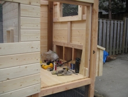 Homemade Chicken Coop - Tools