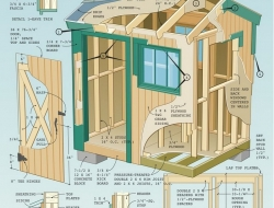 how to build a outdoor livable shed