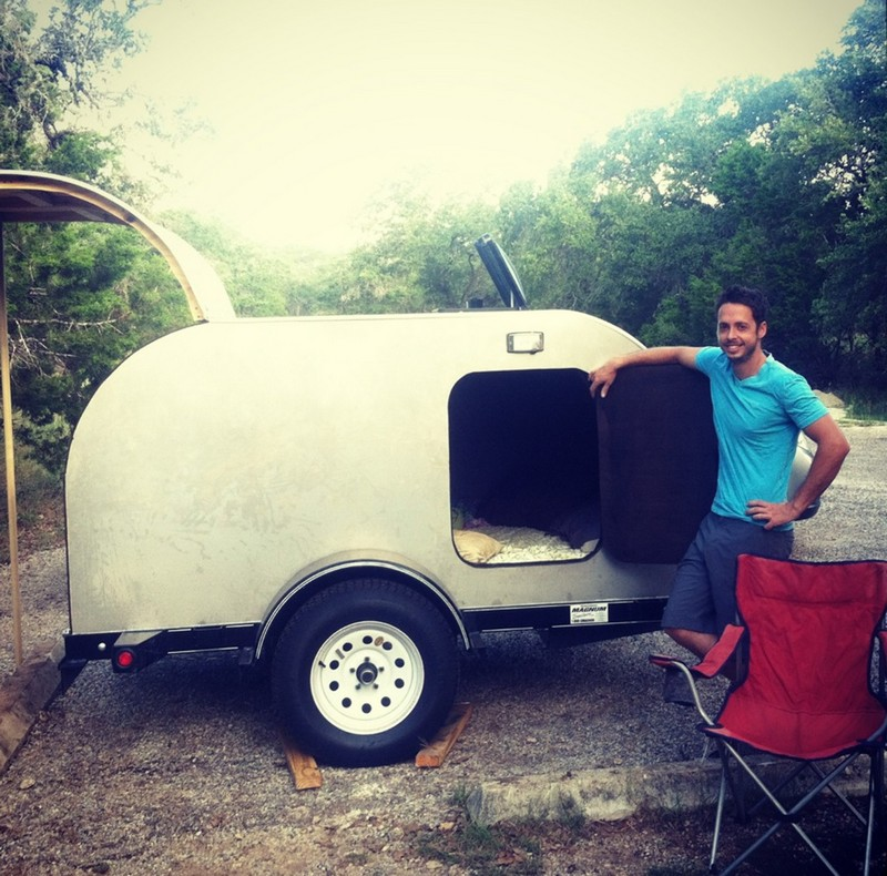 Pin How To Build A Teardrop Trailer For Two on Pinterest
