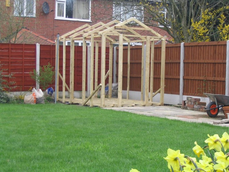 How to build a nice shed, how big can i build a shed without a permit ...