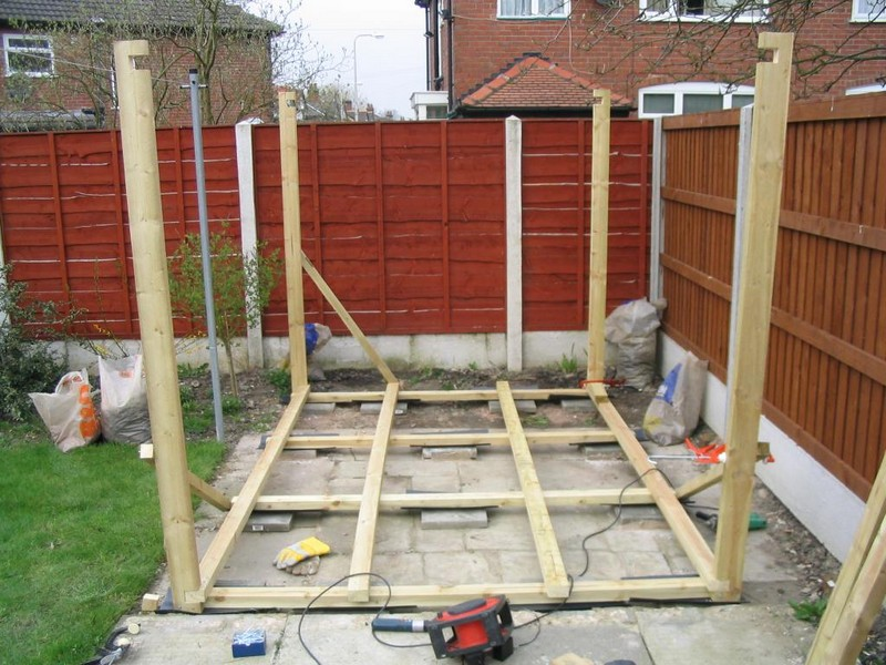 How To Build A Shed - Building the Base
