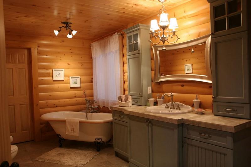 Rustic Bathrooms The Owner Builder Network