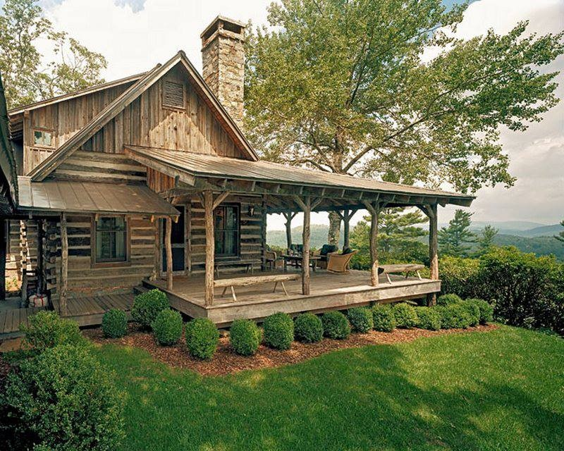 Dream cabins on pinterest rustic cabins cabin and hunting for Rustic cabin homes