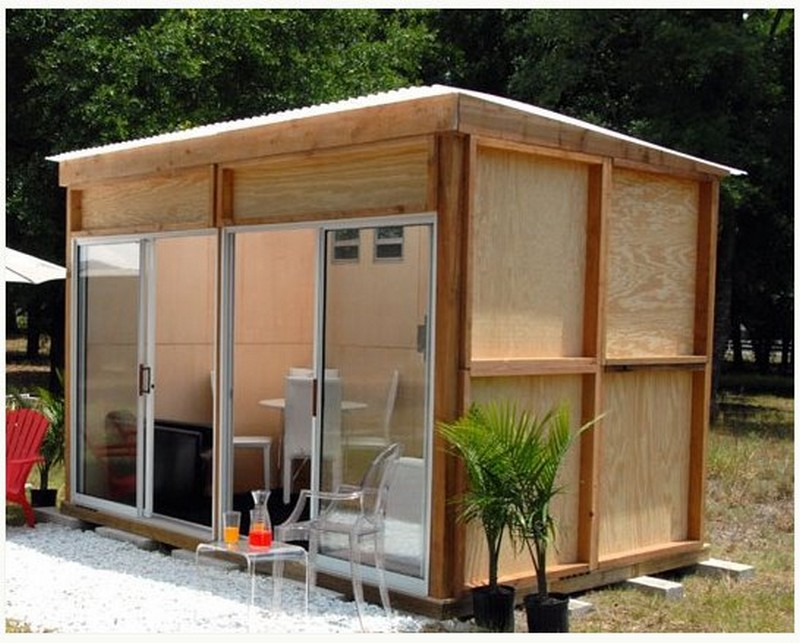 Cheap and cheerful for Cheap garden office buildings