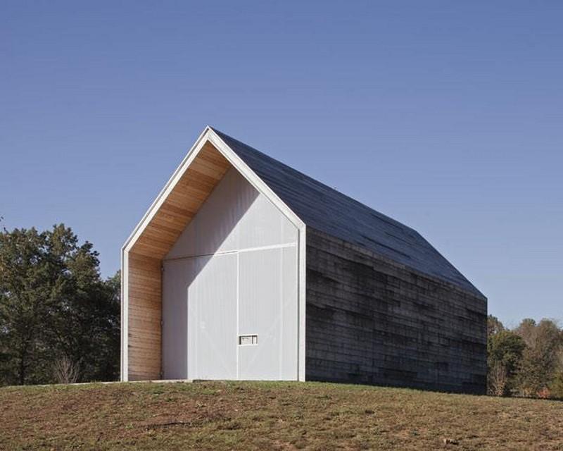 Rainscreen siding on pinterest modern shed dark trim Pre manufactured roof trusses