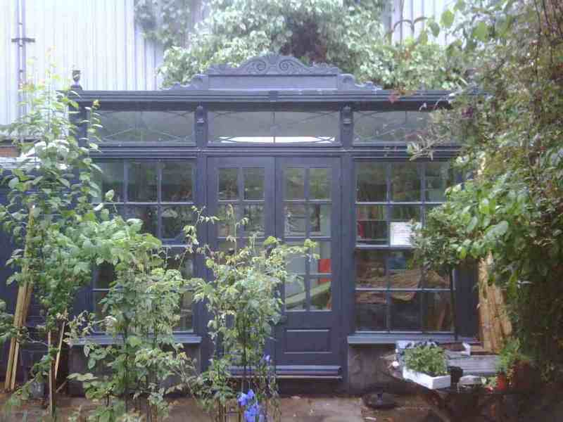 Sheds studios greenhouses on pinterest garden sheds for Traditional garden buildings