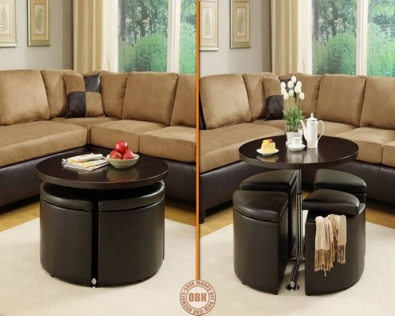 isn t this convenient this coffee table turns into a. Black Bedroom Furniture Sets. Home Design Ideas