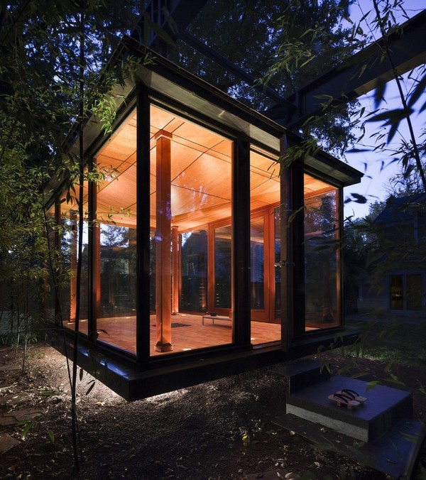 The Hanging Tea House - David Jameson Architect
