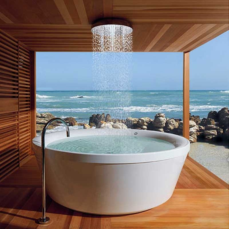 Home Design Ideas Outside: Cleansing The Soul – Outdoor Baths And Showers