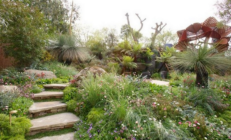 Phillip Johnson and Callum Gray - Best In Show at the 2013 RHS Chelsea Flower Show