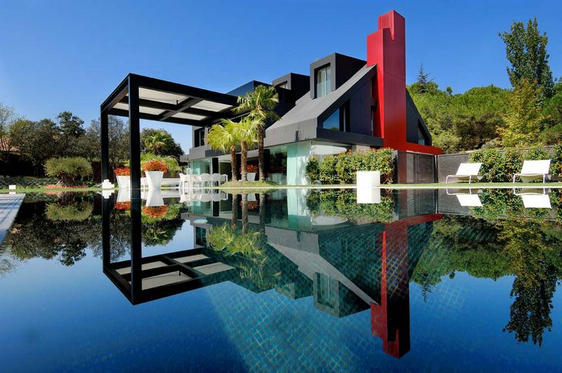 A chalet in Madrid…