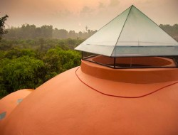 Thai Dome by Steve Areen - Skylight over bathroom