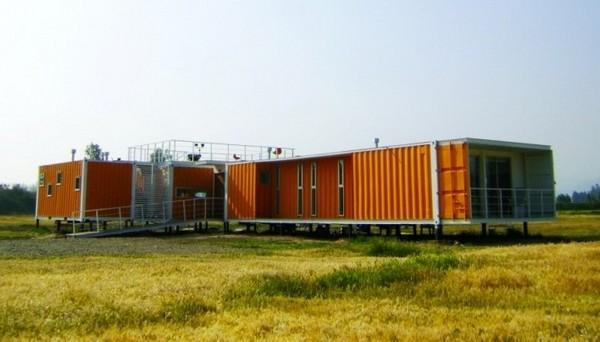 Bright Cargo Container Casa in Chile
