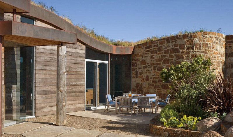 Built to withstand the elements while remaining open to the view