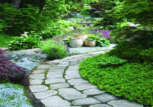 Beautiful diy garden paths and inspiration the owner for Garden path