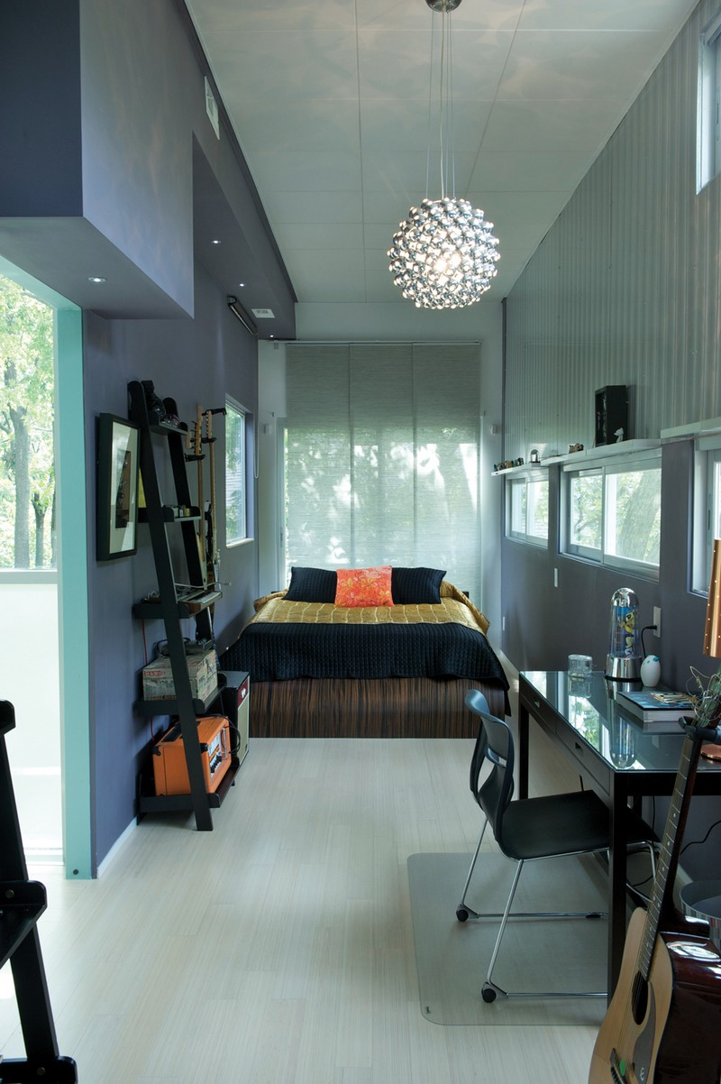 Made in china at home in kansas city the owner builder network - Container home interior ...