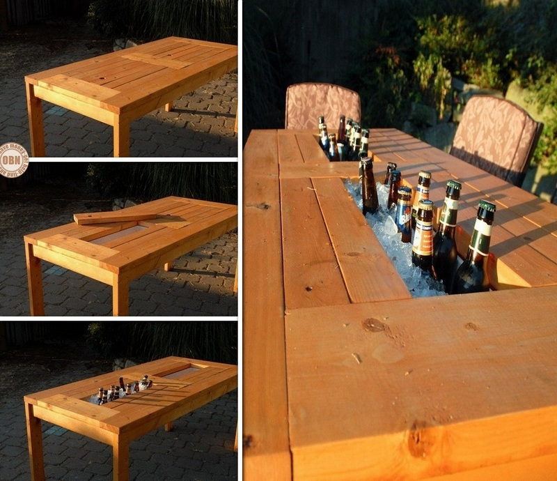Beer Cooler Coffee Table
