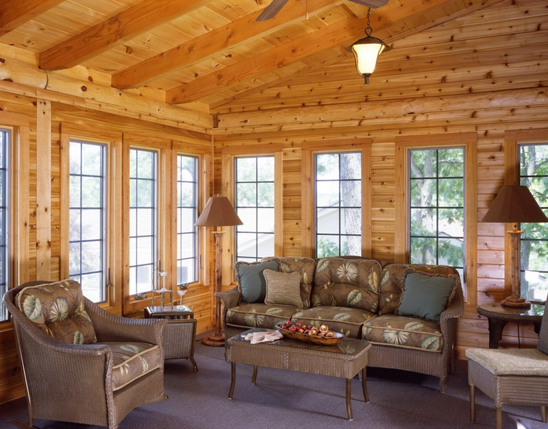 The red lake the owner builder network for Log home windows