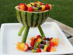 DIY Fruit Grill