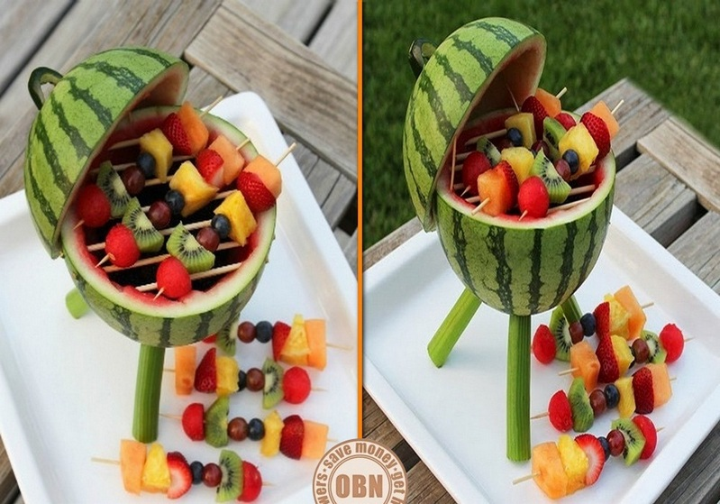 DIY Watermelon Grill