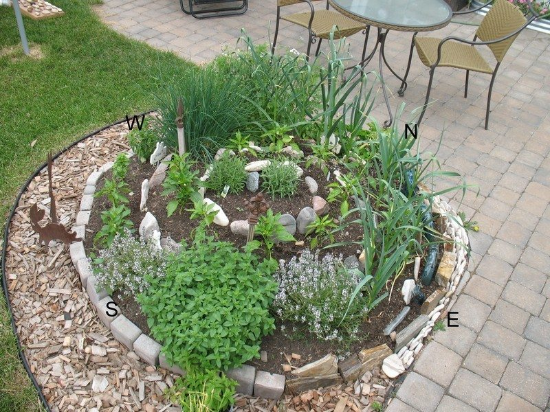 Container herb gardens and other herb garden ideas the - Hacer un jardin ...